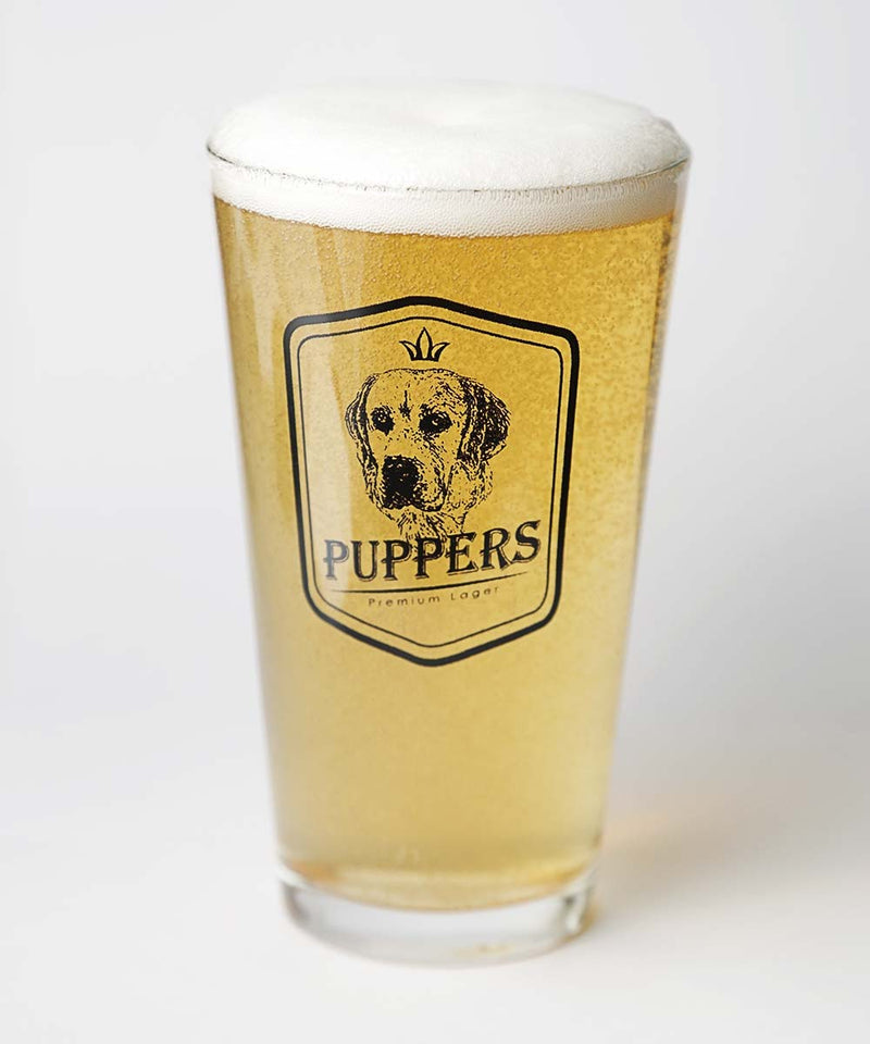 Puppers Beer Glass