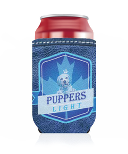 Puppers Light Koozie
