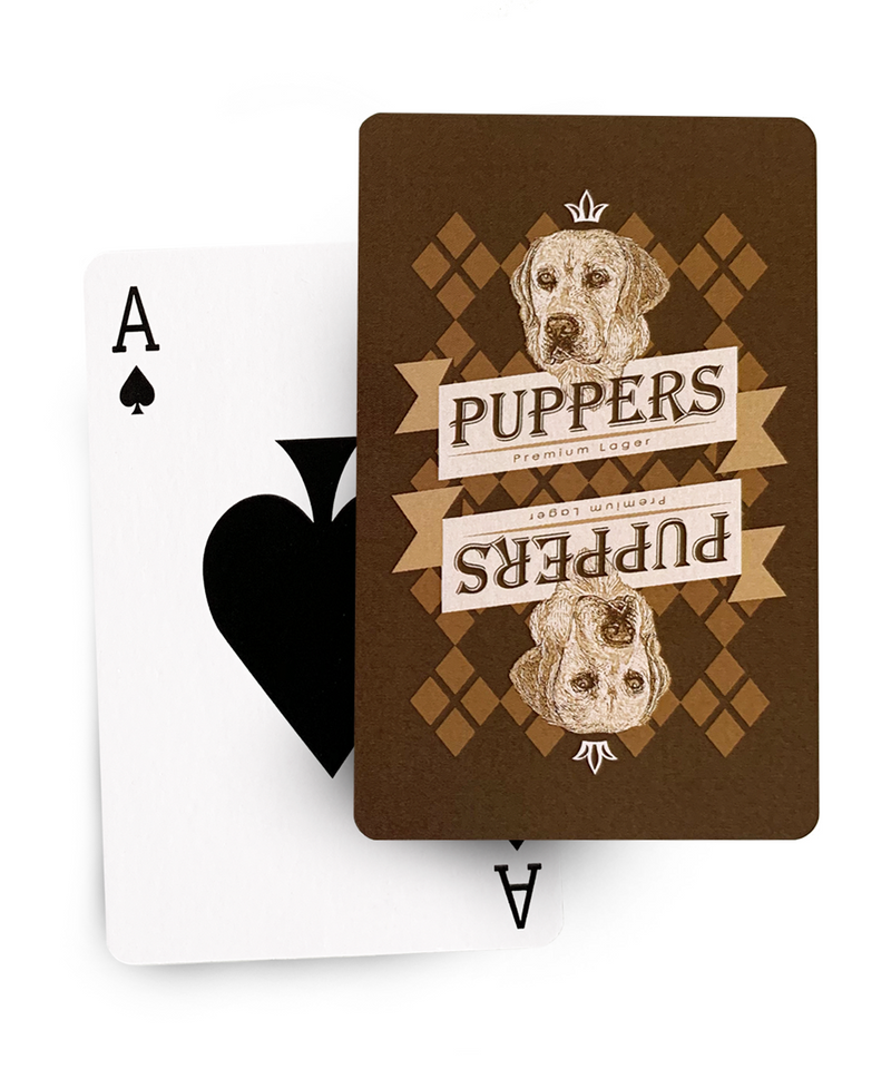 Puppers Playing Cards