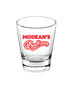 Modean's Roadhouse Shot Glass