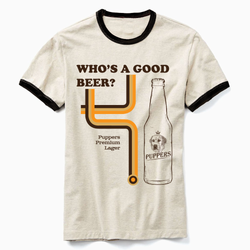 Who's A Good Beer Ringer Tee