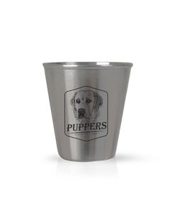 Puppers Stainless Steel Shot Glass