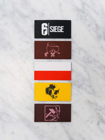 6 Siege Patch pack 1