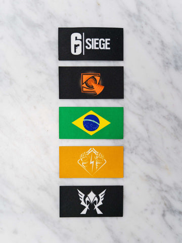6 Siege Patch pack 2