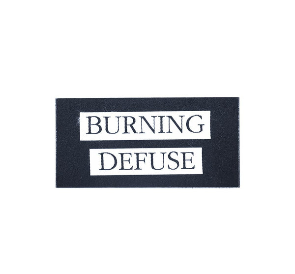 Burning Defuse Patch