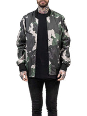 DRKN Reversible Bomber Jacket Forest Camo/Reflex