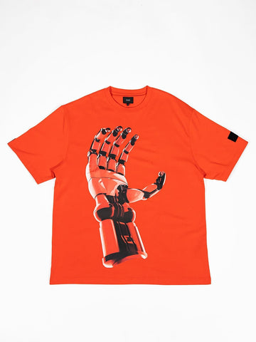Robo Patch Tee Patina Red