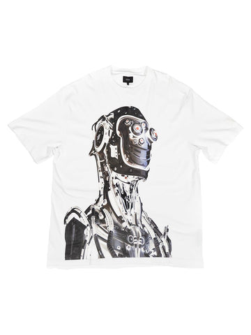 Robo Patch Tee White