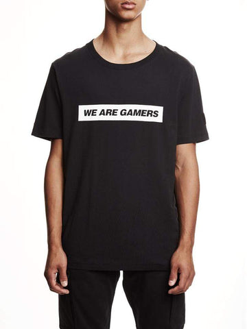 Black We Are Gamers Tee