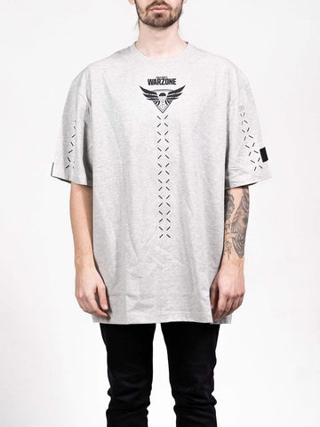 Warzone Crosshair Grey Oversized T-shirt