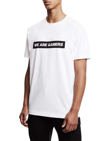 White We Are Gamers Tee