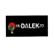 Mr. Dalek JD Logo Patch