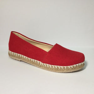 B-80 Mocasin Yute - Color Rojo