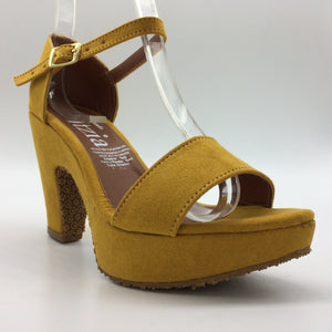 82 Zapatilla Francis - Color Mostaza