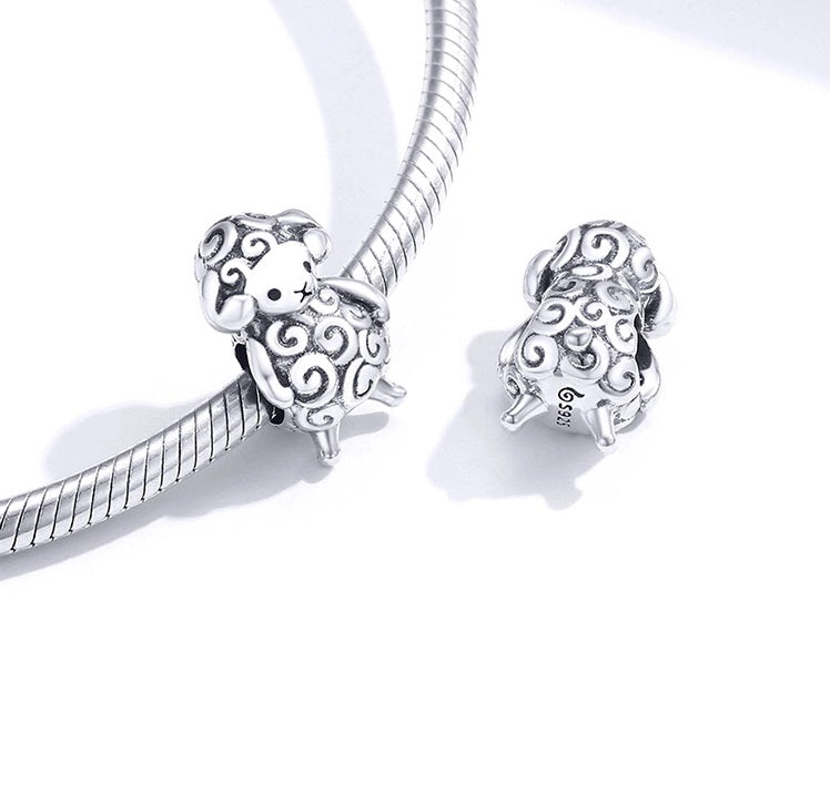 Charms animaux compatible Pandora - Crystalissime