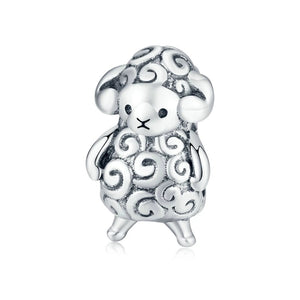 Charms animaux Bébé Mouton - Crystalissime
