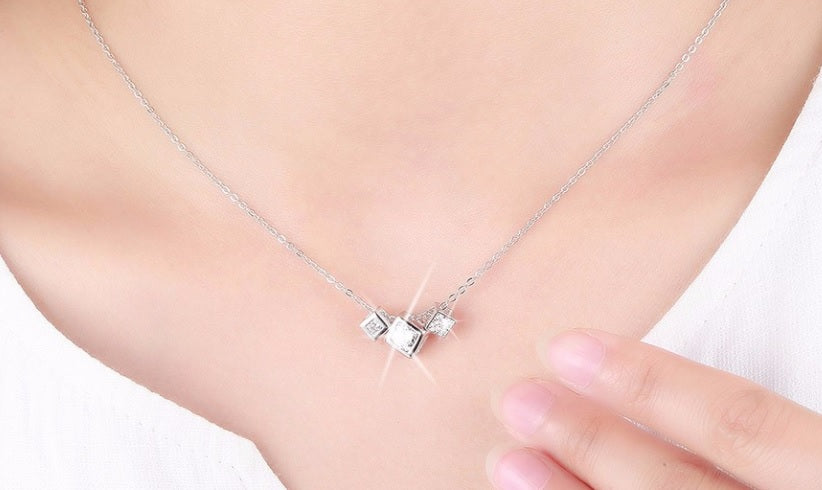 Collier cristal box - Crystalissime