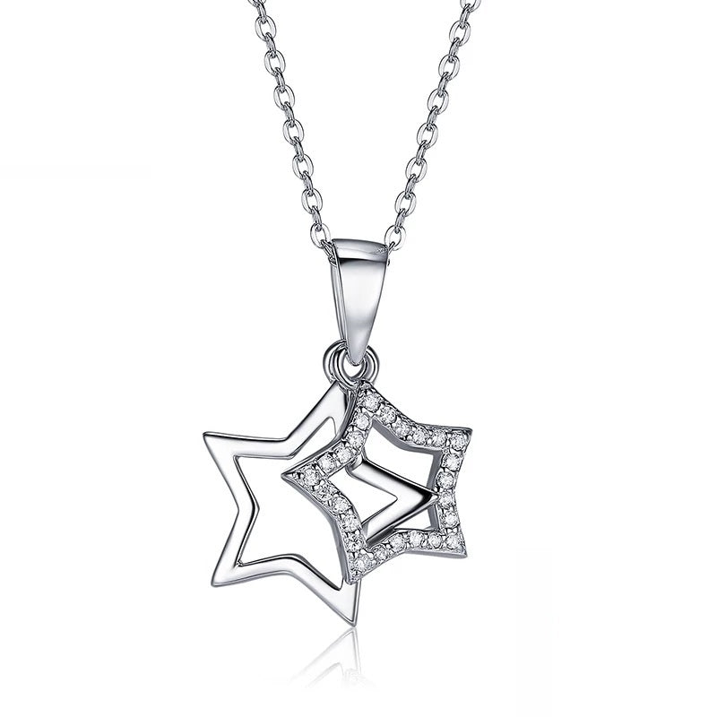 Collier Etoile cristal - Crystalissime