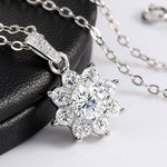 Collier neige de cristal - Crystalissime