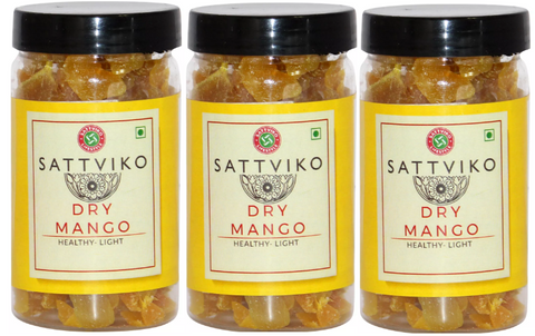 Sattviko Dry Mango Jar - Pack of 3
