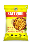 Sattviko Herb & Cheese Makhane Pouch - 27gm