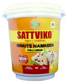 Sattviko Makhane & Minute Namkeen (with refills) -All Favours Jars Combo