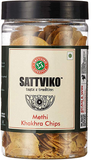 Sattviko Methi Khakhra Chips Jar - 150g
