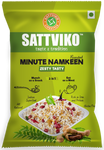 Sattviko Minute Namkeen (Sabudana Meal) Zesty Tasty Family Pack Combo - 3 Pouches of 200 g each