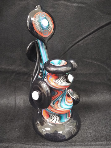 Wig Wag Waterpipe W/Opals