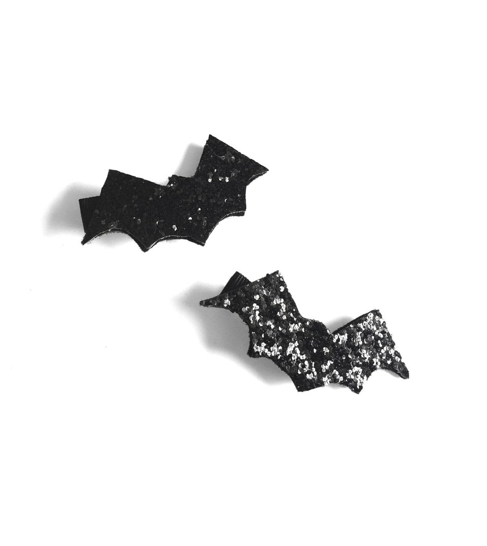Glitter Bat Hairclips - dress-up.gr