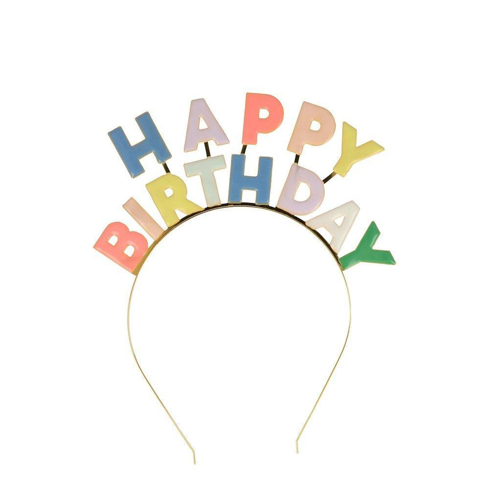 Enamel birthday headband - dress-up.gr