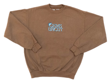 BROWN CREWNECK