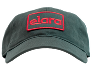 RED & GREEN ELARA PATCH HAT