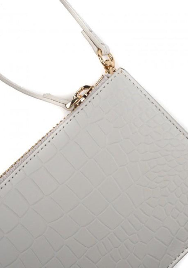 Polaris Grey - Croc Wristlet