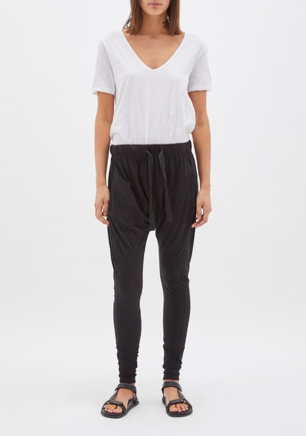 Slouch Jersey Pant III Black