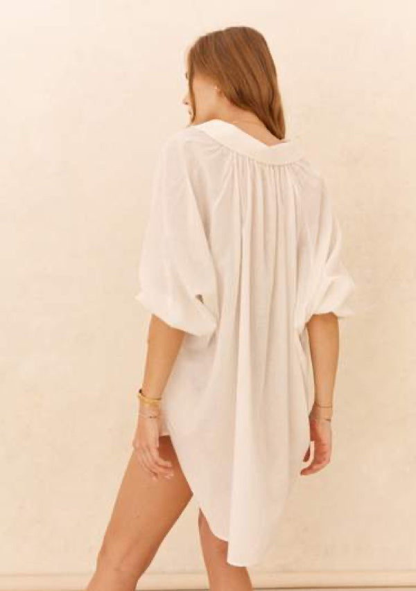 La Ponche Shirt White