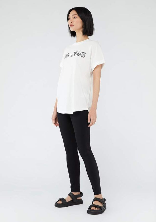 Huntington Tee White