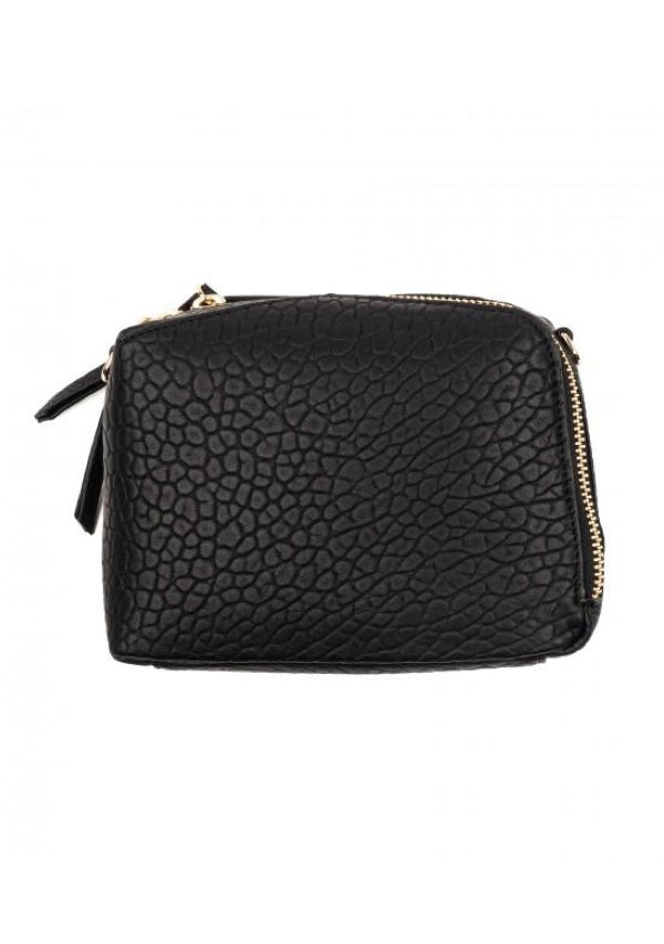 Izar Mini Box Bag - Black
