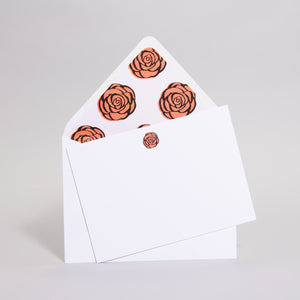 EMC Rose Notecards