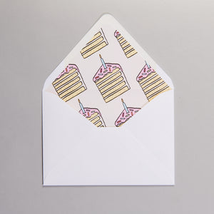Piece of Cake Invitations
