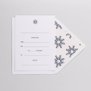 Snow Bunny Invitations