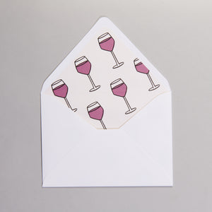 Wine-O-Clock Invitations