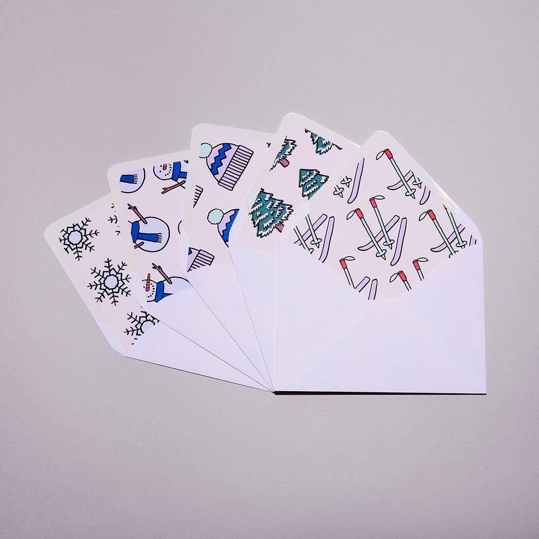 Frosty Notecards