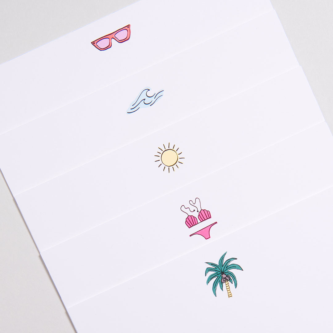 Sun-kissed Notecards