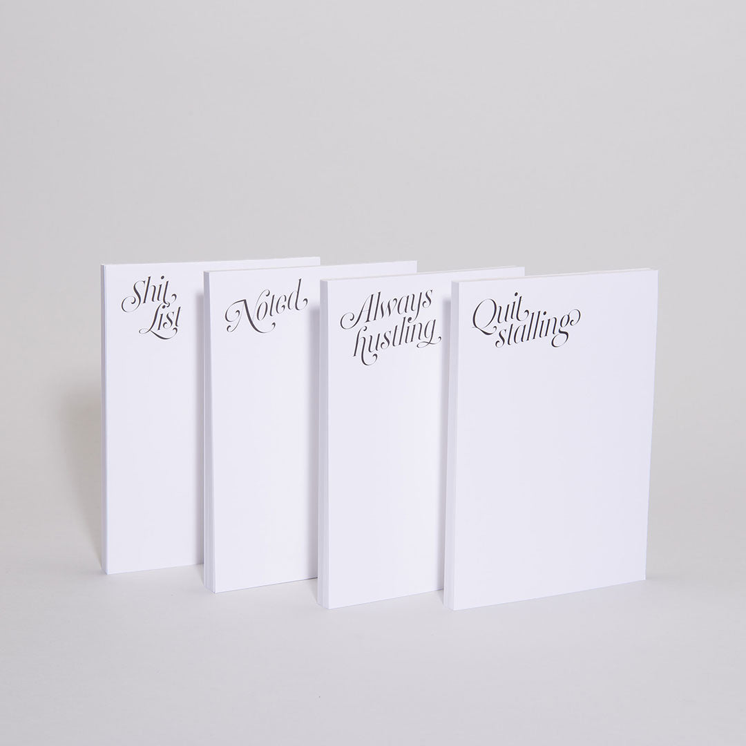 Cheeky Notepads