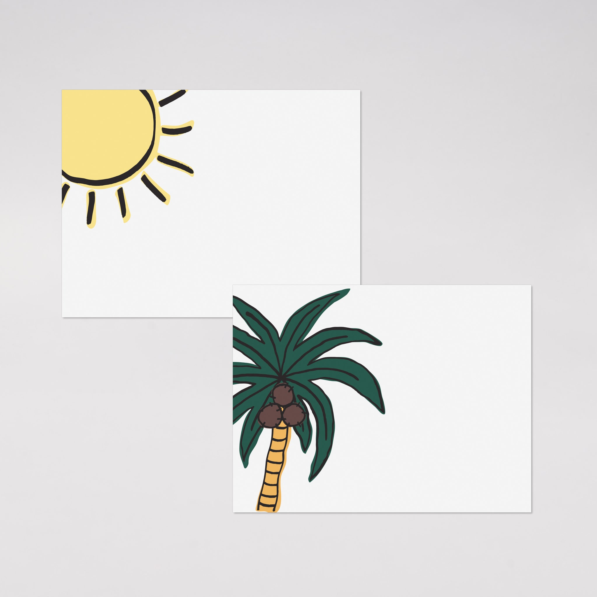 Tropical Place Cards