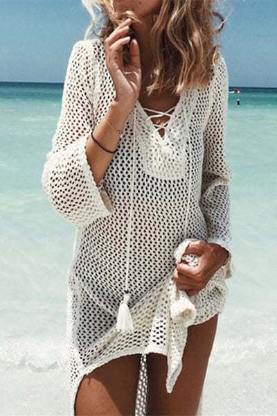 FSY Crochet Tunic Cover Up