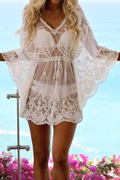 FSY Sexy Lace Cover Up