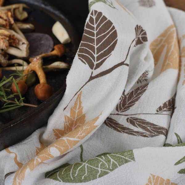 Leaf Pile Towel