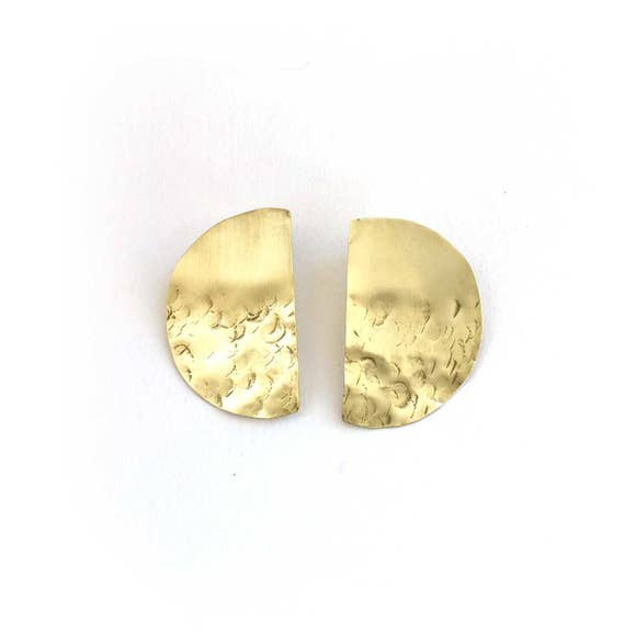 Lunar Post Earring